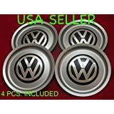 4pcs. REPLACEMENT VW Jetta Bora Golf Mk4 Wheel Center Hub Caps SET 1J0 601 149 B 6 1/2""