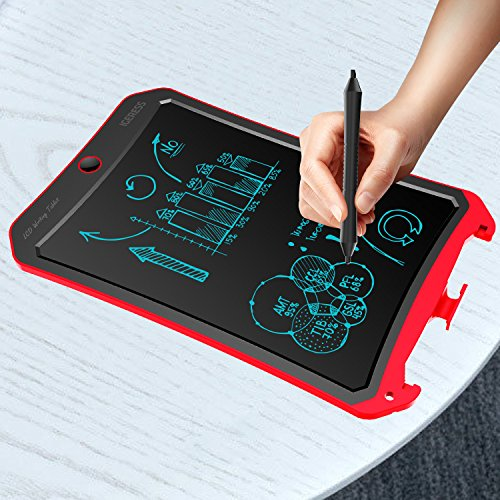 IGERESS Newest 8.5-inch LCD Writing Tablet with Cool Robot Element Design Electronic Writing Board for Kids and Adults Happy Drawing and Working Saving Papers by IGERESS (Image #5)