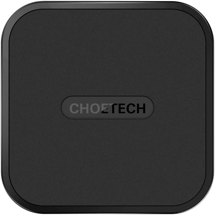CHOETECH Wireless Charger, USB Type C Wireless Charging Pad Compatible with iPhone 11/11 Pro/11 Pro Max/Xs/XS Max/XR/X/8/8 Plus,Samsung Galaxy Note 10/Note 10 Plus/S10/S10+/S10E/S9/Google Pixel 3 XL