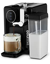 Gourmia GCM6500 One Touch Automatic Espresso Cappuccino  amp; Latte Maker Italian engineered and com
