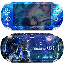 Premium Skin Decals Stickers For PlayStation VITA Slim 2nd Generation PCH-2000 Series Consoles Korea Made - POP SKIN Final Fantasy X | X-2 #02 + Free Gift Screen Protector Film + Wallpaper Screen Image