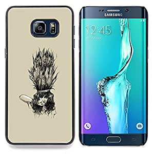 SKCASE Center / Funda Carcasa protectora - Emo Goth Girl;;;;;;;; - Samsung Galaxy S6 Edge Plus / S6 Edge+ G928