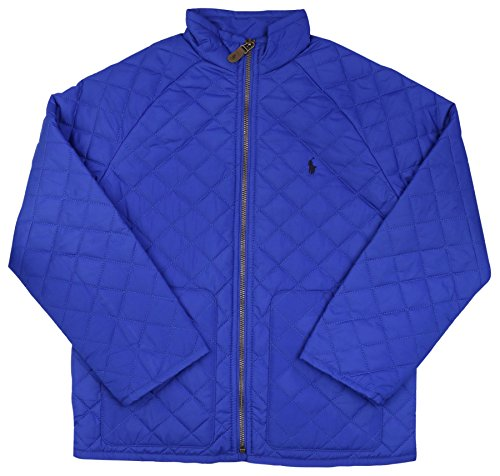 Polo Ralph Lauren Girls (7-16) Quilted Jacket-Pac Royal-XL