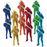 """amscan Fun-Filled Mini Parachute Men Party Favors, Multicolor, 2 1/4"""" x 7/8"""" x 1/2"""""""