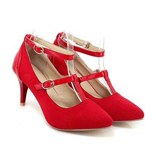 High QIN Stiletto amp;X Schuhe Schuhe Mund Damen Heels Flache UtxzWAtRF