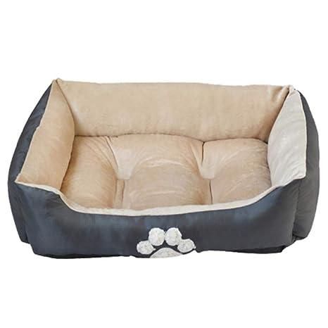 MQQXLa Mejor opcion para Suave y Antideslizante con cálido y Confortable Cama de Perro Mascotas,