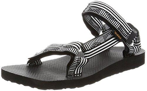 (Teva Women's W Original Universal Sandal, Campo Black/White, 7 M US)