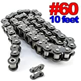 PGN - #60 Roller Chain x 10 feet + Free Connecting Link