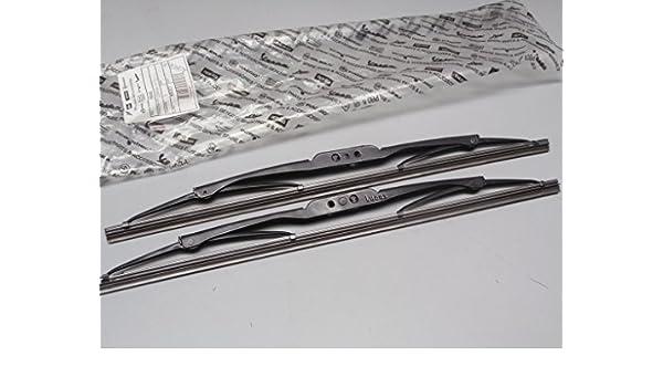 438042 par escobillas limpiaparabrisas delantero color Piaggio Porter BZ/DS/GPL/met.: Amazon.es: Coche y moto