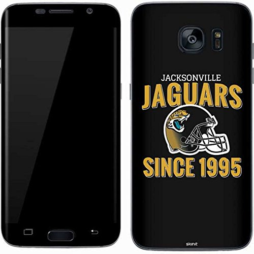 (Skinit Jacksonville Jaguars Helmet Galaxy S7 Skin - Officially Licensed NFL Phone Decal - Ultra Thin, Lightweight Vinyl Decal Protection)