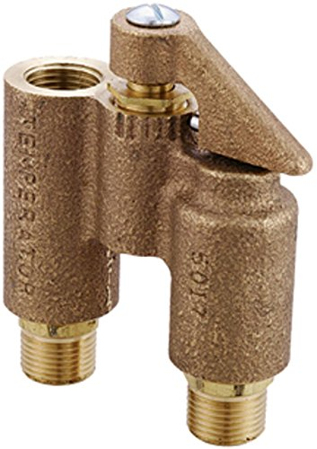 Central Brass 555 0 Alliance Anti-Sweat Temperature Valve for Water Closet Tanks