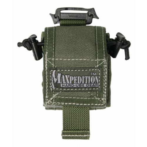 Maxpedition Mini Rollypoly Folding Dump Pouch Foliage Green MX0207F by Maxpedition