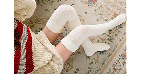 ZHJZ - Zapatillas de ganchillo para mujer y niña (color blanco): Amazon.es: Hogar