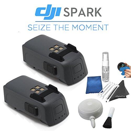DJI Spark Quadcopter / Mini Drone FLY MORE COMBO & Outdoor Adventure Kit (Alpine White)