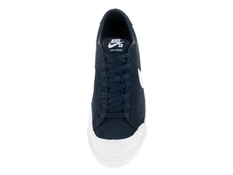 Amazon.com | Nike SB Zoom All Court CK Obisidian/White (9.5) | Skateboarding