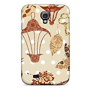 Fashion FAw2859ctmg Case Cover For Galaxy S4(nature Abstract Browns)