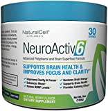 Product review for NeuroActiv6 Brain Supplement Reds Superfood Powder: Anti-Aging Antioxidants + Polyphenols + Nootropics: Improve BDNF, Mood, Focus, & Cognition • Reduce Stress, Anxiety, Fatigue & Brain Fog