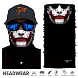 Best Face Shields - TEFITI Stretchable Face Shield Motorcycle Mask Balaclava Sun Review