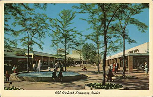 Old Orchard Shopping Center Skokie, Illinois Original Vintage - Orchard Center The Shopping