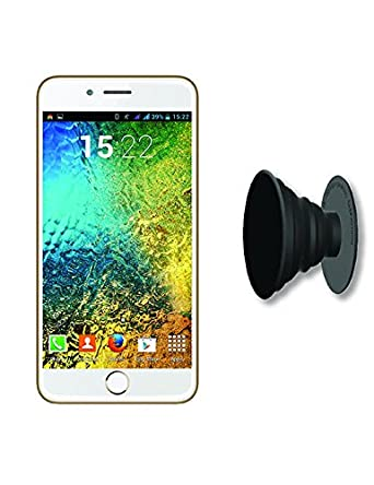 IKALL K1 5 Inch 4G Android Phone With Freebie Grip/Stand - Champagne