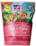 Halo Spot's Stew Natural Dry Dog Food, Puppy, Wild Salmon Recipe, 6-Pound Bag