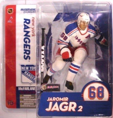 McFarlane Toys NHL Sports Picks Series 10 Action Figure Jaromir Jagr White Jersey Variant New York Rangers