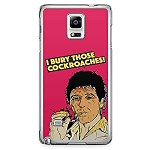 Loud Universe Cockroaches Tony Montana Samsung Note 4 Case Scarface Movie Poster Samsung Note 4 Cover with Transparent Edges