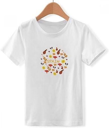 DIYthinker España Flamenco tripulación Alimentos Cuello Camiseta ...