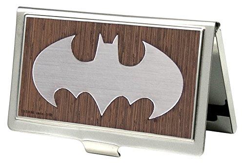 Card Holder - Batman Marquetry Black Walnut/Metal - Small ()