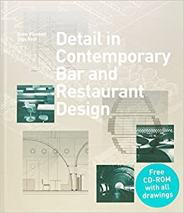 detail in contemporary bar and restaurant design detailing for