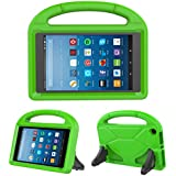 Kids Case for Fire HD 8 - TIRIN Light Weight Shock Proof Handle Kid –Proof Cover Kids Case for Amazon Fire HD 8 Tablet (7th and 8th Generation Tablet, 2017 and 2018 Release), Green