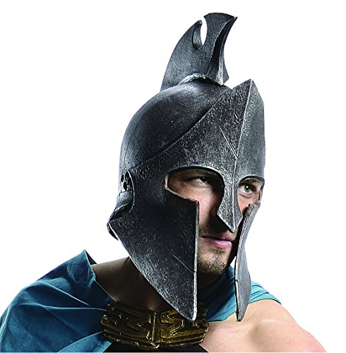 Themistocles Adult Costumes (Rubie's Costume Rise Of An Empire Themistocles Helmet, Multi-Colored, One Size)