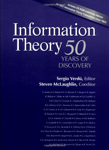 Information Theory: 50 Years of Discovery