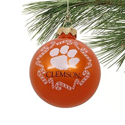 Tigers Candy Cane Ornament - 3
