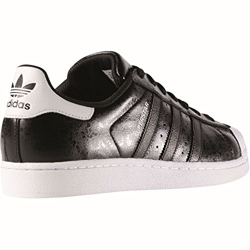 Adidas Originals Mens Originelen Superster Trainers Zwartwit Us6.5 Zwart