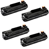 Shopcartridges® 4 Packs Canon 137 (9435B001) New Compatible Black Toner Cartridge for Canon ImageClass MF212w MF216n MF227dw MF229dw