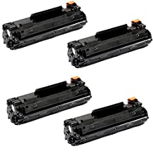 4 Packs Shopcartridges® Canon 128 Canon128 3500B001AA New Compatible Black BK Toner Cartridge For FaxPhone L100 L110 L190 /ImageClass D530 D550 D560 MF4412 MF4420n MF4450 MF4550 MF4550d MF4570dn MF4570dw MF4580dn MF4770n MF4880dw MF4890dw ~2100 Pages Yield