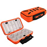make your own fishing lures - Goture Fishing-Lure-Boxes-Bait Tackle-Plastic-Storage, Small-Lure-Case, Mini-Lure-Box for Vest, Fishing-Accessories Large Boxes Storage Containers (Medium/Orange)