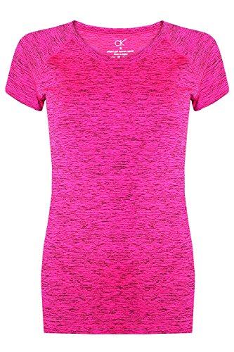 Libella - Camisa deportiva - para mujer rosa Medium