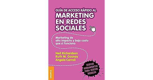 Amazon.com: Guía de Acceso Rápido Al Marketing En Redes ...
