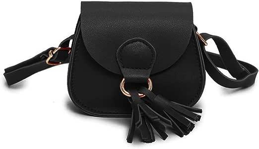 Kids Girls Toddler Mini Shoulder Purse Crossbody Bag with Tassel