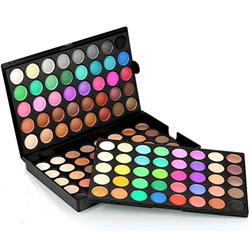 LandFox 120 Colors Cosmetic Powder Eyeshadow Palette Makeup Set Matt