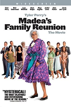 Love Nikki Christmas Reunion.Amazon Com Madea S Family Reunion Widescreen Edition