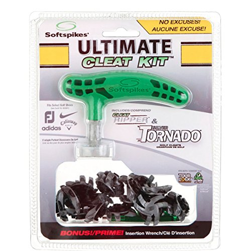 (SOFTSPIKES Ultimate Cleat Kit - Silver Tornado ()