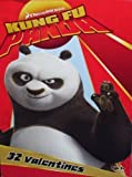 Dreamworks Kung Fu Panda 32 Valentines Cards by Paper Magic