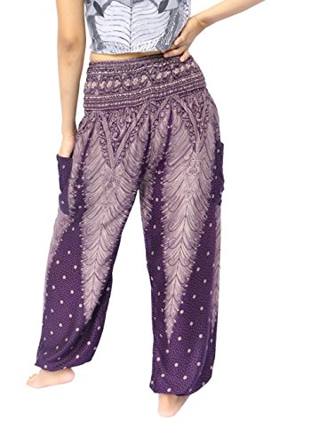 NaLuck - Pantalón - para mujer Purple#3