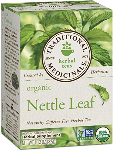 (Traditional Medicinals Organic Nettle Leaf Herbal Tea, 16 Tea Bags (Pack of)