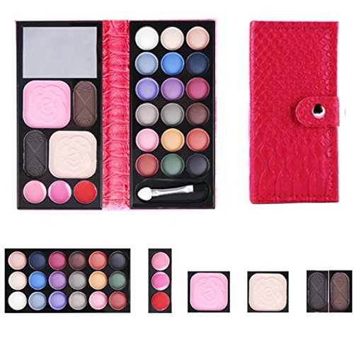 Molyveva 2017 Hot Design 25Colors Cosmetic Eyeshadow Blush Lip Gloss Powder Makeup Palette