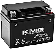 KMG Battery Compatible with KTM 250 XC EXC XC-W 2011-2012 YTX4L-BS Sealed Maintenance Free Battery High Perfor