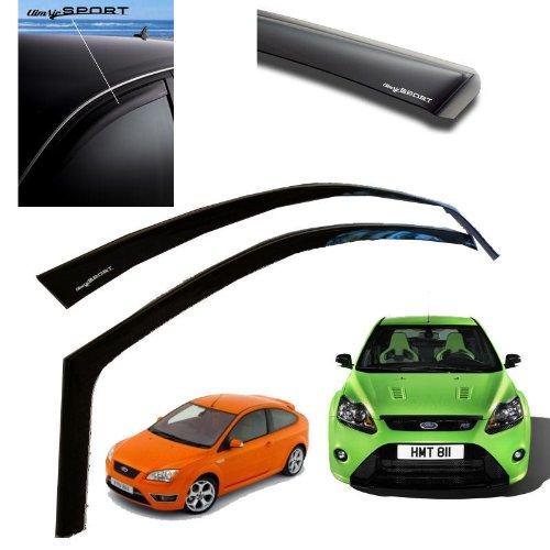 Black Ford 1490766 Air Wind Deflectors